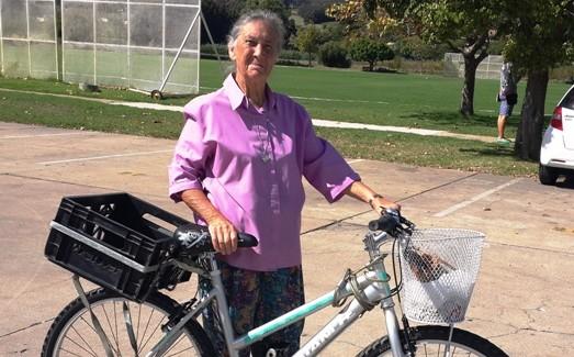 Tannie Christina se fiets